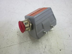 Amphenol H be10bs Female Connector 10 pin 1 2 used