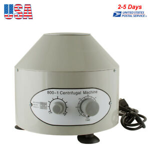110v Electric Centrifuge Machine 4000rpm Lab Medical Practice 4000r min 60hz 25w