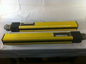 1 Set Transmitter Receiver Sick Agse 750 2221 Safety Light Curtain