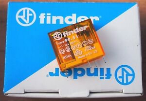 Finder 10x Miniature Pcb Relay W Base 230v 40 51 8 230 0000 95 65 sma Spdt