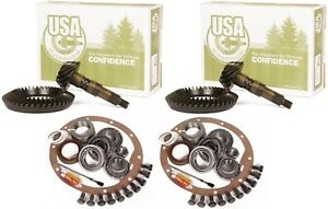 Dana 44 Rear 30 Front 3 73 Ring And Pinion Master Install Usa Gear Pkg