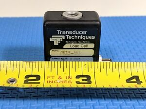 Transducer Techniques Mdb 50 Load Cell 50lb Capacity High Accuracy With Wire