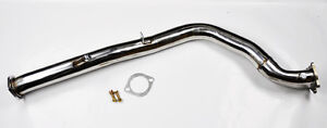 3 Bellmouth Turbo Catless Downpipe Exhaust Fits Subaru Impreza Wrx 2008 2016