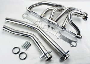 L6 144 170 200 250 Cid Stainless Steel Performance Exhaust Headers For Ford Merc