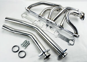 Ford Mercury L6 144 170 200 250 Cid Stainless Steel Performance Headers Exhaust