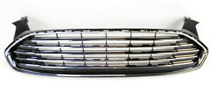 Fits Ford Fusion 2013 2015 Front Bumper Upper Grille Assembly Ds7z8200ba