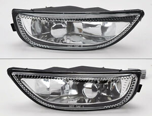 Front Bumper Glass Fog Lights Lamps Pair Rh Lh For Toyota Corolla 2001 2002