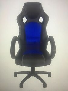 Bcp Executive Racing Gaming Office Desk Chair Pu Leather Swivel Back