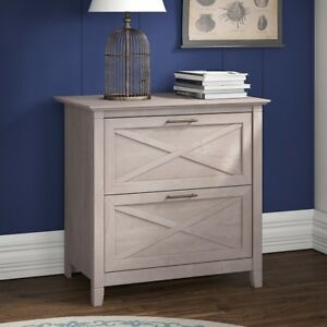 Lateral Filing Cabinet File Storage Drawers Organizer Cabinets Washed Gray Legal