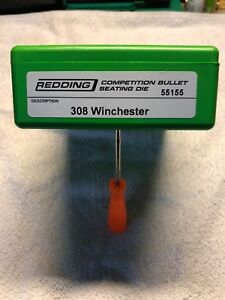 Redding Competition Bullet Seating Die 308