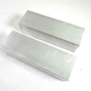 3 X 3 5 Aluminum 6061 Flat Bar 10 75 Long New Mill Stock Qty 2 Sku K338