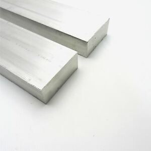 1 75 X 4 Aluminum 6061 Flat Bar 12 375 Long New Mill Stock Qty 2 Sku M527