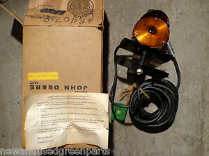 John Deere 2010 2510 3010 4010 4020 New Generation Implement Warning Flasher Nos
