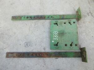 John Deere 2520 3020 4020 4320 4520 4620 Front Double Stack Weight With Supports