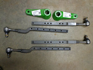 John Deere 520 530 620 630 730 720 Square Tube Wide Front End Tie Rods Arms Ends