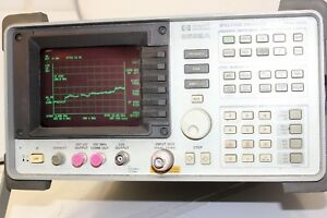 Hp 8592a 9 Khz To 22 Ghz 109 Dbm To 30 Dbm Spectrum Analyzer Tested