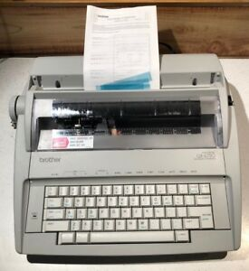 Brother Gx 6750 Daisywheel Portable Electric Typewriter Tested Works W Manual