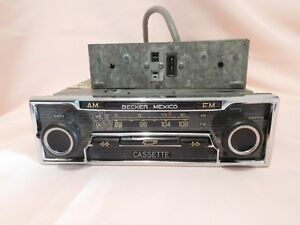 Vintage Becker Mexico Am Fm Stereo Cassette Radio W Amplifier Germany