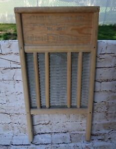 Vintage Washboard National Washboard No 2071
