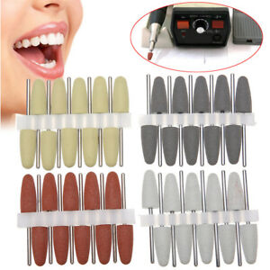 160pcs Dental Lab Silicone Rubber Polishers Handpiece Polishing Burs 4 Colors