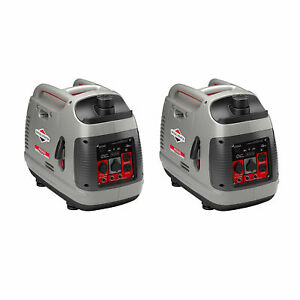 Briggs Stratton Powersmart Portable 2200 watt Inverter Generator 2 Pack