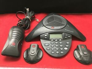 Polycom Soundstation 2 Expandable 2201 16200 601 W Mics Power Ph615
