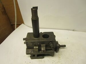 Warner Swasey M1890 Turret Lathe Boring Head Back Tool Slide