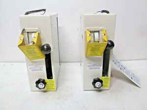 qty 2 Chain And Cable Cutter Hydraulic High Test 3 8 Pn 91714 Damaged