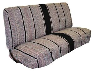 Full Size Truck Bench Seat Covers Fits Chevrolet Dodge And Ford Trucks Black