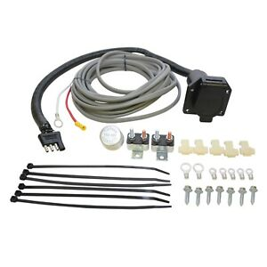 Westin 65 75607 Trailer Brake Control Wiring Harness Kit With 7 Way Connector