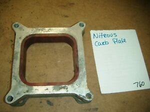 Nitrous Carburetor Space Plate 1