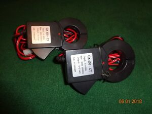 Lot Of 2 Ted Pro Current Transformers Qx 400 ct