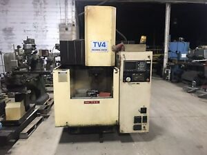 Ikegai Tv 4 Cnc Mill Fanuc Control 40 Taper Manuals