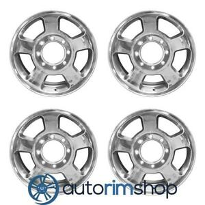 New 17 Replacement Wheels Rims For Dodge Ram 1500 2500 3500 2003 2009 Set Polis