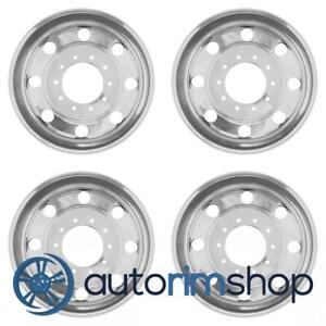 Ford F550 Super Duty 2007 2008 19 5 Factory Oem Staggered Wheels Rims Set