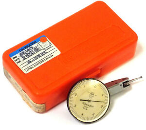 Tesa 18 20012 Tesatast Top Mounted Dial Test Indicator 0001 0 4 0 W Case