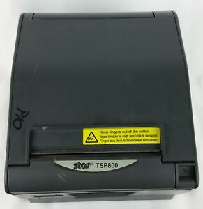 Star Tsp800 Thermal Pos Wide Receipt Printer Ethernet Connection Free Shipping