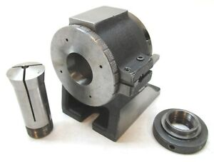 Kalamazoo 5c Collet Horizontal Indexing Fixture W 1 Collet 5c