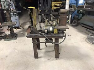 Baldor Belt Sander And Craftsman Grinder And Table