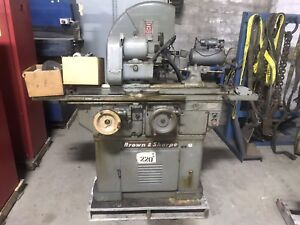 Brown And Sharpe No 13 Univeral Tool And Cutter Grinder
