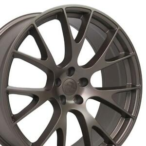 Cp 22 Rims Fit Dodge Challenger Charger Chrysler 300 Hellcat Bronze 2528