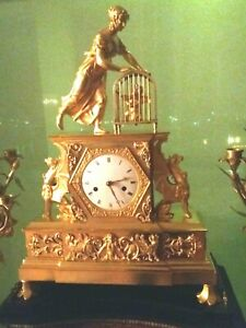 Large French Clock C 1820 30 Days Large Movements