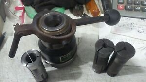 1 1 2 X 8 Spindle Collet Adapter Uses 4c Collets Atlas logan Lathe south Bend