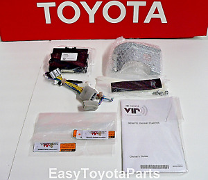 Highlander Fits 2014 2016 Remote Start Oem Toyota Pt398 48140 With Smart Key