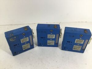 Lot Of 3 Gilian Hfs 513a Air Sampler Units For Parts Or Repair