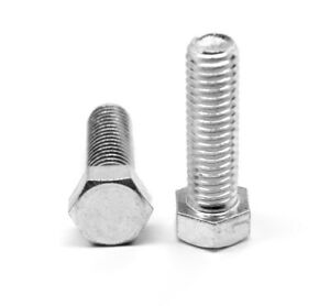 1 4 20 X 3 4 Coarse Hex Cap Screw bolt Aluminum