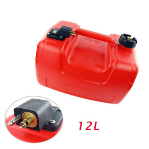 12l Portable Fuel Tank 3 2 Gallon For Yamaha Outboard Fuel Tank W Connector Tool