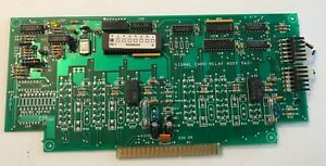 Simplex 562 782c Fire Alarm 8 Point Monitor Assembly Board free Shipping