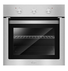 Empava 24 Stainless Steel Electric Built in Convection Single Wall Oven