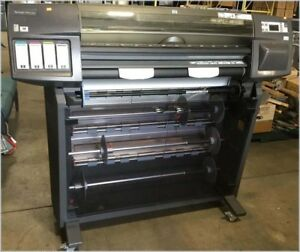 Hp C6075b Designjet 1055cm Plus Large Format Printer